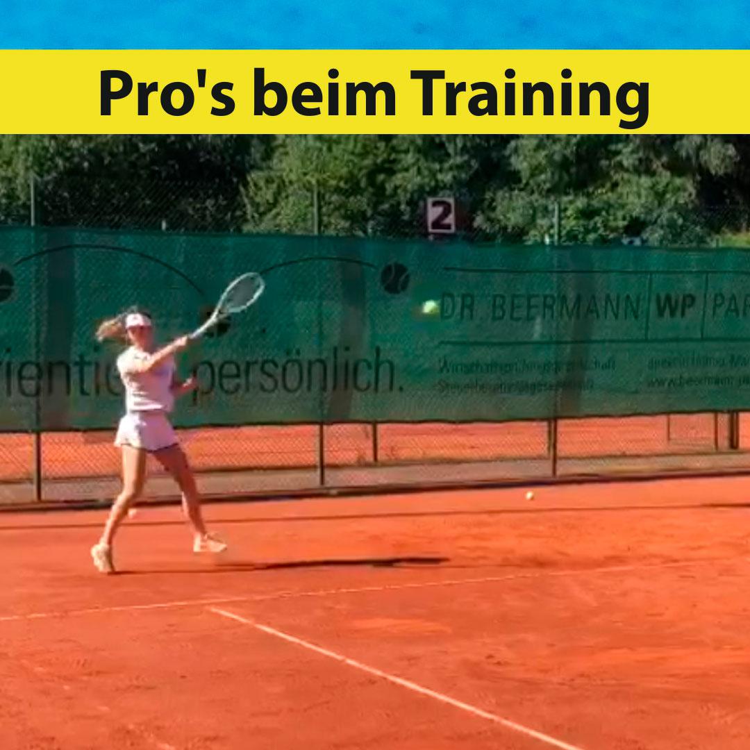 Pro's beim Training