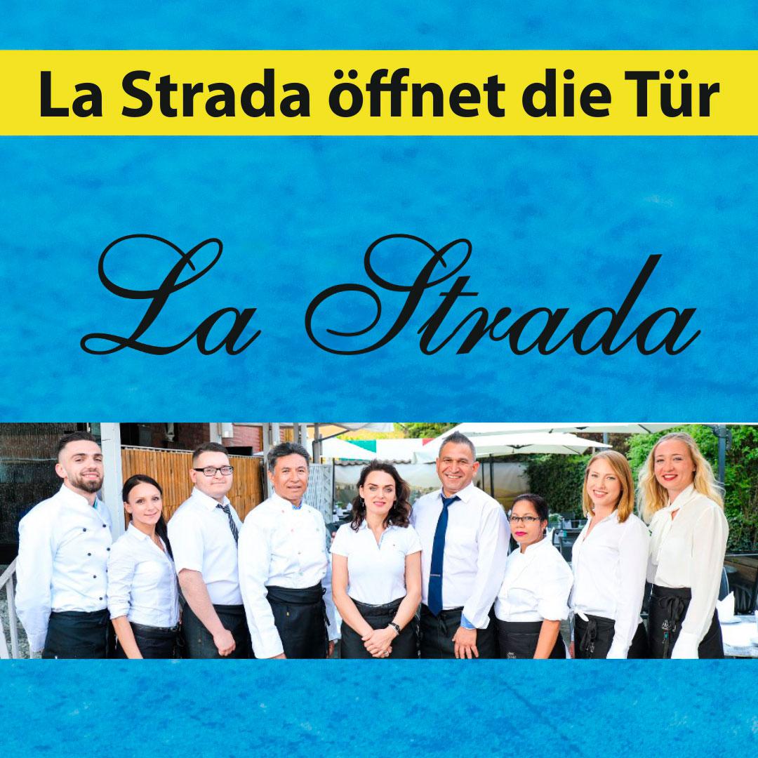 La Strada öffnet die Tür