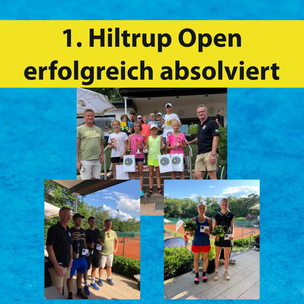 1. Hiltrup Open erfolgreich absolviert