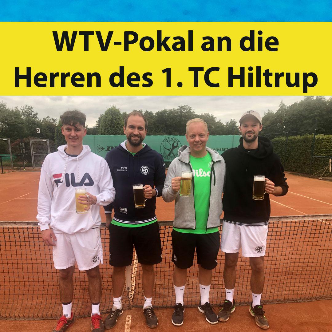 WTV-Pokal an die Herren des 1. TC Hiltrup